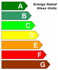 Energy Rated Glass Units and Extrusions